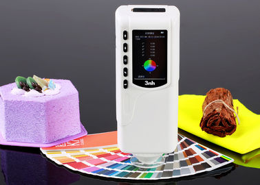 White Color 3nh Colorimeter Device , Portable Spectrophotometer Colorimeter